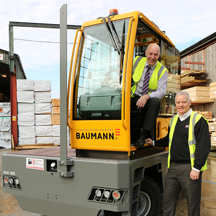 GE Robinson receive Baumann sideloaders.