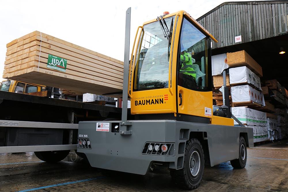 New GE Robinson Baumann Sideloader